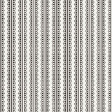 Vector seamless pattern of lace ornate ribbons Stock Photos