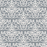 Vector Seamless Pattern. Laser Cut Template Royalty Free Stock Photo