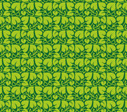 Vector seamless pattern of leaves Royalty Free Stock Photo