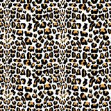Vector seamless pattern with leopard fur texture. Repeating leopard fur background for textile design, wrapping paper, wallpaper o. R scrapbooking. eps10 vector illustration