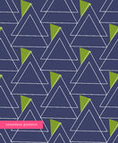 Vector seamless pattern linear triangles forming the structure of the print fabric, fashion ornament, modern style. Background Stock Photography