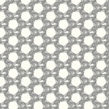 Vector seamless pattern lines monochrome background Stock Image