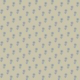 Vector seamless pattern, little blue flowers Royalty Free Stock Images