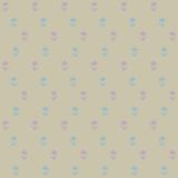 Vector seamless pattern, little blue flowers Royalty Free Stock Photo