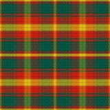 Vector seamless pattern Maple Leaf tartan Royalty Free Stock Photo