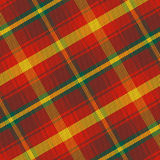 Vector seamless pattern Maple Leaf tartan Royalty Free Stock Photography