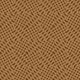 Vector seamless pattern of material of fabric. Stock Photography