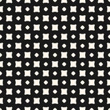 Vector seamless pattern, minimalist texture with smooth squares Stock Photo