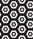 Vector seamless pattern. Modern clasical texture. Repeating geom Royalty Free Stock Images