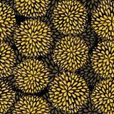 Vector seamless pattern. Modern floral texture. Stock Photos