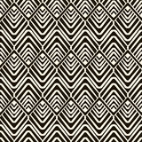Vector seamless pattern, modern geometric stylish texture Stock Photography