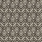 Vector seamless pattern, modern geometric stylish texture Stock Photography