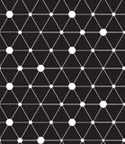 Vector seamless pattern. Modern line geometric background Stock Images