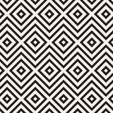 Vector seamless pattern. Modern stylish abstract texture. Repeating geometric tiles stock illustration