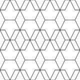 Vector seamless pattern. Modern stylish abstract texture. Repeating geometric tiles from striped elements vector illustration