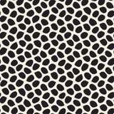 Seamless irregular lines vector mosaic pattern. Abstract chaotic tessellation texture vector illustration