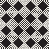 Vector seamless pattern. Modern stylish abstract texture. Repeating geometric tilesn vector illustration