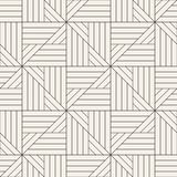 Vector seamless pattern. Modern stylish abstract texture. Repeating geometric tiles vector illustration