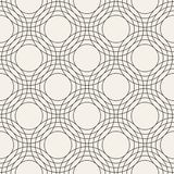 Vector seamless pattern. Modern stylish abstract texture. Repeating geometric tiles Stock Images