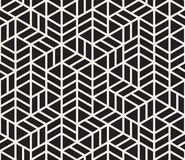 Vector seamless pattern. Modern stylish abstract texture. Repeating geometric tiles. From striped elementsr stock illustration