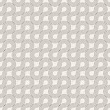 Vector seamless pattern. Modern stylish abstract texture. Repeating geometric tiles Stock Photography