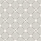Vector seamless pattern. Modern stylish abstract texture. Repeating geometric. Tiles from striped elementsr Royalty Free Stock Images