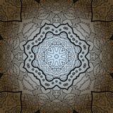 Vector seamless pattern. Modern stylish texture. Royalty Free Stock Image