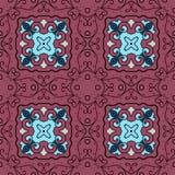 Vector seamless pattern. Modern stylish texture. Stock Photography