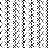 Vector seamless pattern. Modern stylish texture. Geometric ornament with striped rhombuses Royalty Free Stock Photography