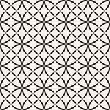 Vector seamless pattern. Modern stylish texture. Geometric striped ornament. Monochrome lattice. Vector seamless pattern. Modern stylish texture. Geometric stock illustration