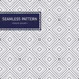 Vector seamless pattern. Modern stylish texture with monochrome trellis. Repeating geometric triangular grid. Simple Royalty Free Stock Image