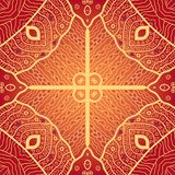 Vector seamless pattern. Modern stylish texture. Stock Image