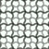 Vector seamless pattern. Modern stylish texture. Repeating abstract background. Monochrome intertwined wavy grid. Eps10 vector illustration
