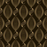 Vector seamless pattern modern stylish texture. Repeating geomet Stock Images