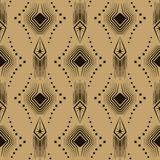Vector seamless pattern modern stylish texture. Repeating geomet Royalty Free Stock Photo