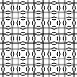 Vector seamless pattern. Modern stylish texture. Repeating geometric background Royalty Free Stock Photo
