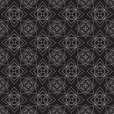 Vector seamless pattern. Modern Stylish Texture. Repeating Geometric Background. Black and White Colors.  Stock Illustration