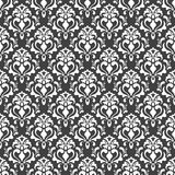 Vector seamless pattern. Modern Stylish Texture. Repeating Geometric Background. Black and White Colors. Wallpaper for invitations. Vector seamless pattern Vector Illustration