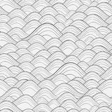 Vector seamless pattern. Modern stylish texture. Repeating geometric background with linear triangles. Variously sized circles in Stock Photos