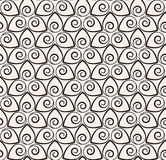 Vector seamless pattern. Modern stylish texture. Repeating geometric background Stock Images
