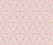 Vector seamless pattern. Modern stylish texture. Repeating geometric background with lines Stock Image