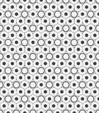 Vector seamless pattern. Modern stylish texture. Repeating geometric background with rhombus and nodes from rhombuses with circles Stock Photos