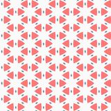 Vector seamless pattern. Modern stylish texture. Repeating geometric tiles. Composition from triangles and star Royalty Free Stock Image