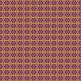 Vector seamless pattern. Modern stylish texture. Repeating geometric tiles. Concentric circles. In violet and orange royalty free illustration