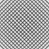 Vector seamless pattern. Modern stylish texture. Repeating geometric tiles with diagonal lines in monochrome Royalty Free Stock Images