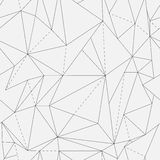 Vector seamless pattern. Modern stylish texture. Repeating geometric tiles with dotted rhombus Stock Photography
