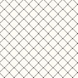 Vector seamless pattern. Modern stylish texture. Repeating geometric tiles of rhombuses Royalty Free Stock Photos