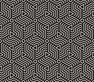 Vector seamless pattern. Modern stylish texture. Repeating geometric tiling from striped triangle elementsr Royalty Free Stock Photo