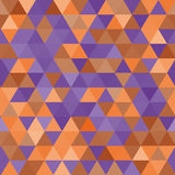 Vector seamless pattern. Multicolor triangles. Background with decorative geometric and abstract elements. Vector seamless pattern. Multicolor triangles Stock Photo