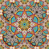 Vector seamless pattern. national decorative element for fabric ot design. Islam, Arabic motifs. Oriental colorful Stock Photography